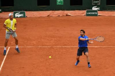 Feliciano Lopez and Marc Lopez win French Open Men´s Doubles title