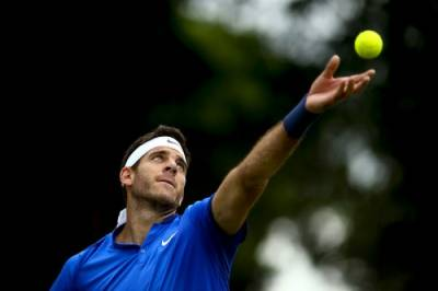 Juan Martin Del Potro loses just five games on his route to victory over Borna Coric at The Boodles