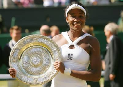 Beyond Wimbledon: The time-turning act of Venus Williams