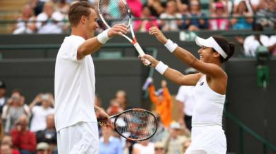 MIXED DOUBLES WIMBLEDON- Henri Kontinen and Heather Watson win the title