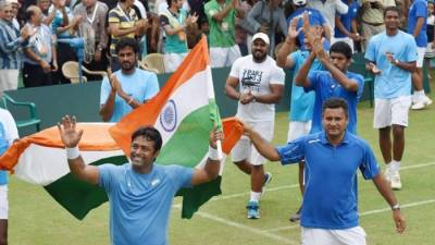 Leander Paes Equals Long-Standing Davis Cup Record!