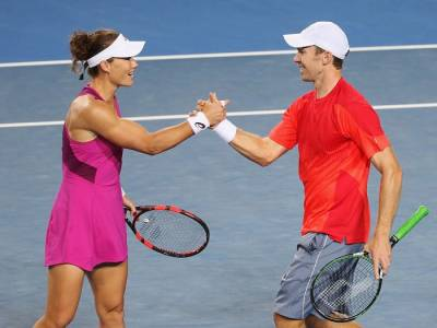 Sam Stosur and John Peers lead mixed doubles charge for Australia