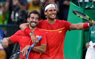 RIO OLYMPICS - DOUBLES: Marc Lopez and Rafa Nadal are the men's doubles champions!