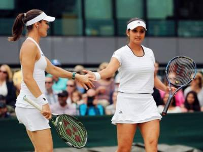 Sania Mirza and Martina Hingis In Danger of Losing Top Spot Following Doubles Split
