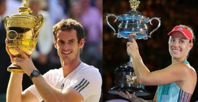 Will Angelique Kerber and Andy Murray Attain their Dreams of Glory? (SURVEY INSIDE!)