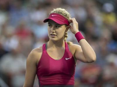 SEXY Eugenie Bouchard studies at Yale! (PICS INSIDE)
