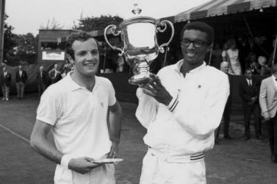 The story about the 1st US Open of the Open era in 1968, and how the winner Arthur Ashe almost missed it!