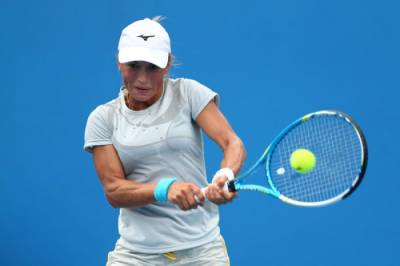 WTA TOKYO- Third seed Putintseva reaches second round, fourth seed Larsson beaten