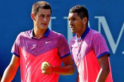 Ken Rosewall hopes to see Nick Kyrgios and Bernard Tomic lead Australia to Davis Cup glory