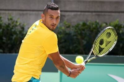 Nick Kyrgios heavily criticizes camera operators while practicing (VIDEO INSIDE)