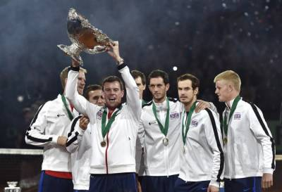 Tim Henman admits he didn't consider Great Britain as the favourite to win Davis Cup last year