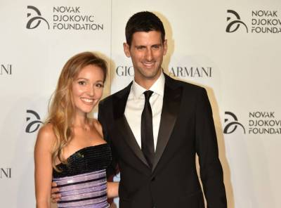 Gala of the Djokovic Foundation with Nole, Flavia Pennetta and Serena Williams!