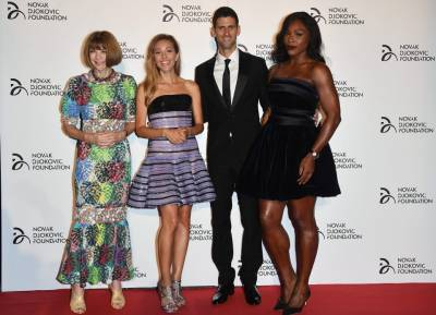 Novak and Jelena Djokovic attend Armani Fashion Show in Milan! (PICS INSIDE)