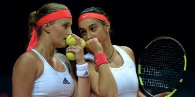 Garcia and Mladenovic to play Fed Cup Final! Benoit Paire banned until February