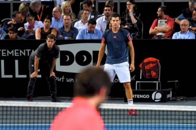 ATP METZ: Thiem sees off Simon's challenge, will face Pouille in the final