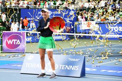 WTA TOKYO & SEOUL: Wozniacki ousts Osaka for her 24th title, first crown for Arruabarrena since 2012