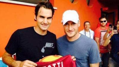 Federer, Nadal, Vinci and Schiavone wish happy Birthday to Francesco Totti