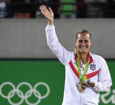 Monica Puig: 'When I'll have vacation I'll turn off Twitter and Instagram'