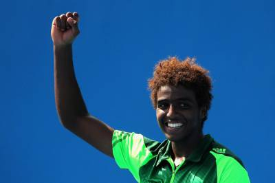 Great Smash Winner by Mikael Ymer