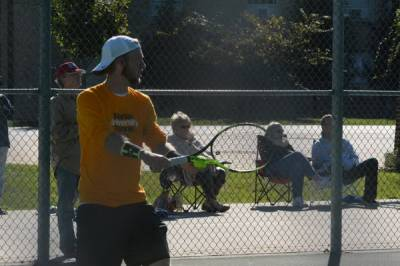 2016 Crossroads League Men's Tennis Tournament: Marian Knights wins the title after victory over Indiana Wesleyan Wildcats