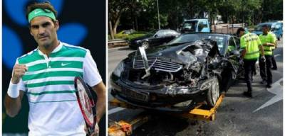 Report of Roger Federer accident on Facebook FALSE! (PIC INSIDE)