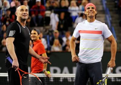 Andre Agassi: 'For Nadal, being fit is the key. Djokovic is similar to me'