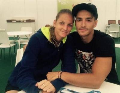The Secret of Karolina Pliskova's success is her boyfriend: 'He is a good guy even if...'