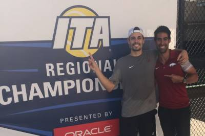 Arkansas senior Jose Salazar wins ITA Central Regional title after a thrilling final