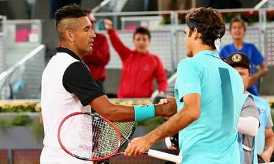 Roger Federer: 'Kyrgios can't only try to play well when he feels like'
