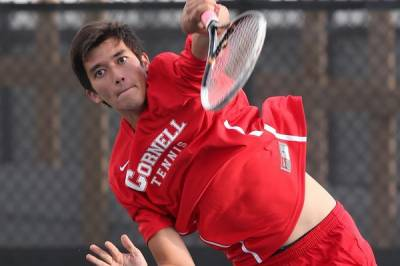 Cornell senior Chris Vrabel wins the USTA/ITA Northeast Regional Championships