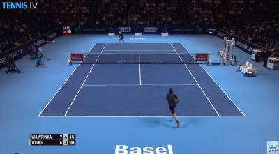 Wawrinka Makes Sneak Attack against Young