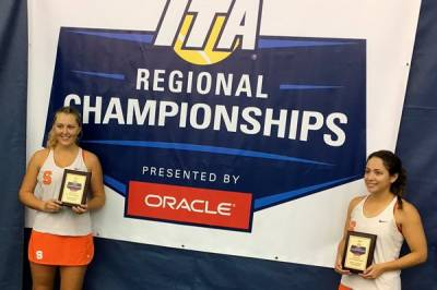Valeria Salazar wins Northeast Regional titles in both singles and doubles