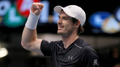 Is there an indication of boredom in Andy Murray's three title wins?