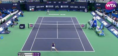 Boom! What a forehand by Stosur