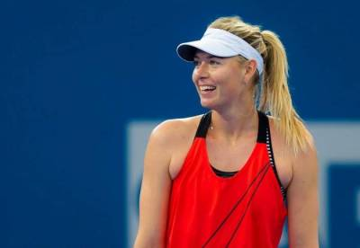 Maria Sharapova practice with Tommy Haas! (PIC INSIDE)