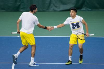 2016 USTA/ITA National Indoor Intercollegiate Championships: Men's doubles 1st and 2nd round results