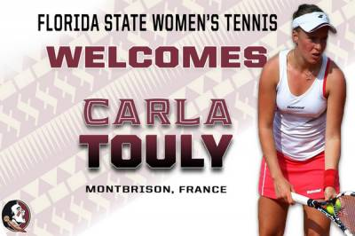Carla Touly add her signature to join Florida State Seminoles the next fall