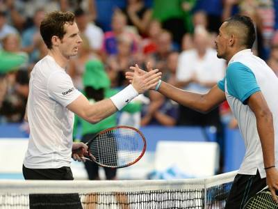 Andy Murray admires Nick Kyrgios for admitting to tanking