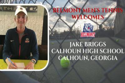 Jake Briggs add his signature to play for Belmont Bruins from the next season