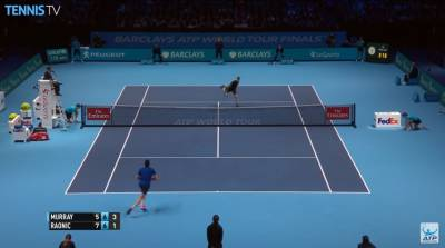 Moments of Magic From Murray against Raonic
