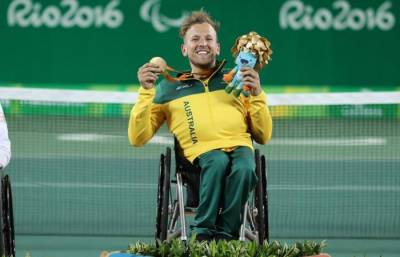 Stosur and Gavrilova are backing Dylan Alcott for the Newcombe Medal