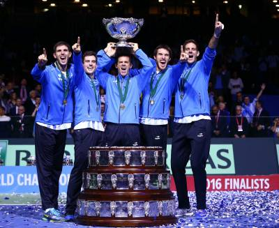 Fognini: 'Congrats Argentina, in February the revenge!'