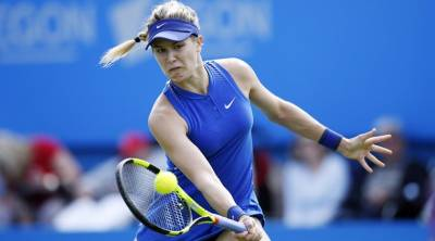 Canadian's name Eugenie Bouchard as female player of the year