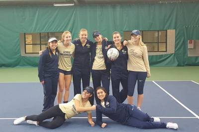 George Washington women's team announce the schedule for the spring action