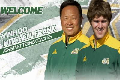 Mason University add Vinh Do and Mitchell Frank as the men's team assistant coaches