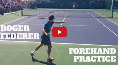 ROGER FEDERER: FOREHAND FLUIDITY WITH STAN WAWRINKA