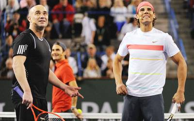Andre Agassi: 'I was disappointed by Nadal and Federer's reactions about my book'