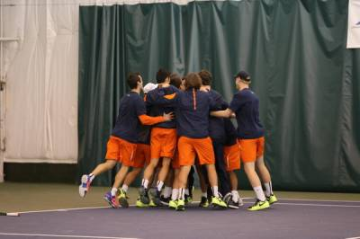 ITA Division I Men's Rankings - January 4, 2017: Virginia Cavaliers starts the year from the top for the 7th time