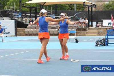 ITA Division I Women's Rankings - January 4, 2017: Florida lead ahead of North Carolina. Di Lorenzo tops singles charts