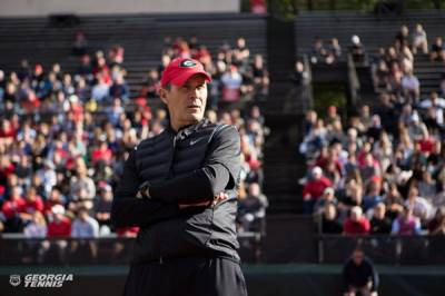 Manuel Diaz, the University of Georgia men's tennis head coach, speaks about the upcoming spring season